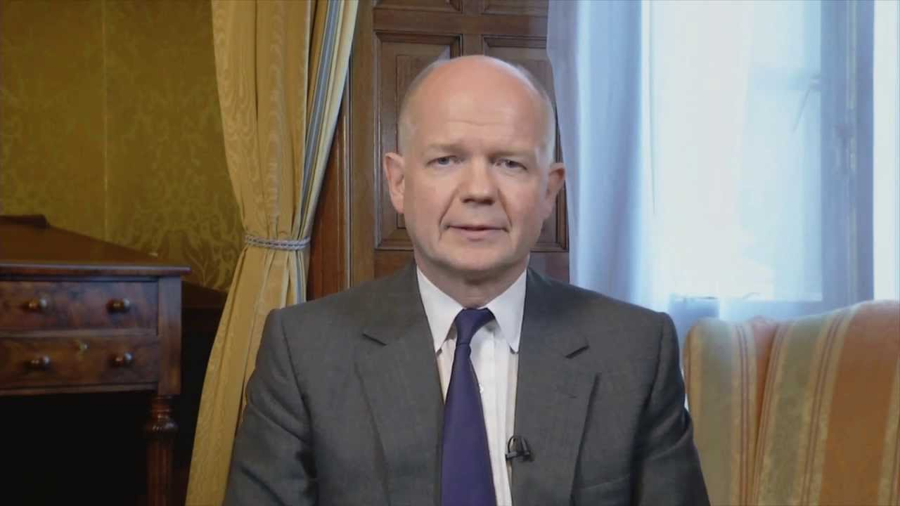 VIDEO: WILLIAM HAGUE ON THE ARAB SPRING AND WOMEN'S POLITICAL PARTICIPATION