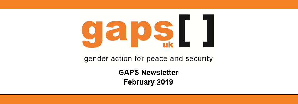 GAPS Newsletter: February 2019